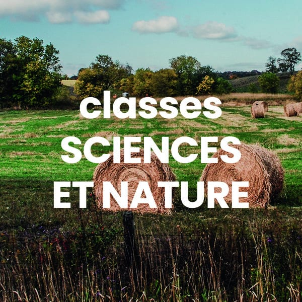 Classes Sciences & Nature