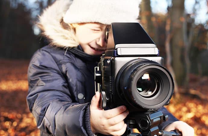 Image activité-découverte-outil-caméra Cinéma Classe de découverte Côté Découvertes