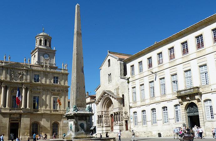 Image Arles-ville Sur les traces de Van gogh Classe de découverte Côté Découvertes