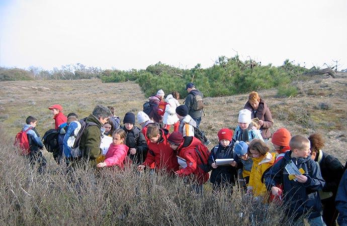 Image etude-de-la-dune Classe de découverte Côté Découvertes