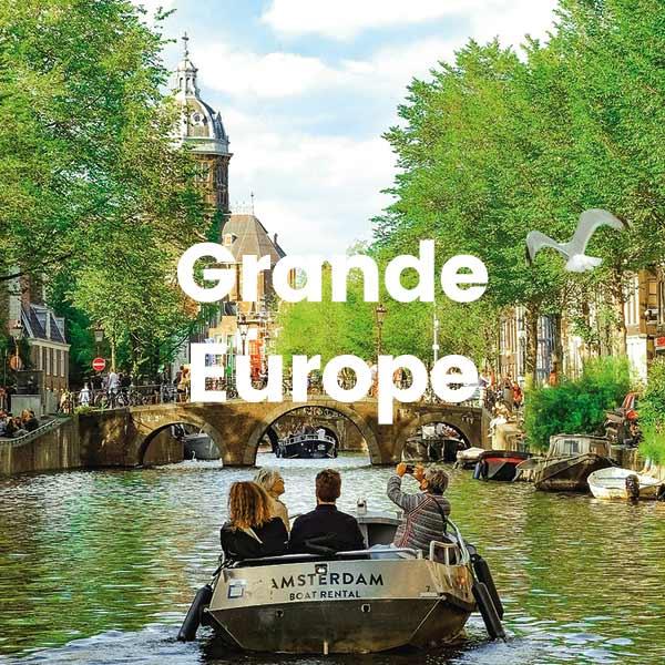 Miniature Séjour Voyages Scolaires Educatifs GRANDE EUROPE Côté Découvertes