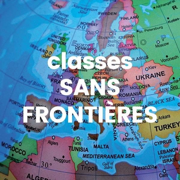 Image Miniature classe sans frontières Classe de découverte Côté Découvertes