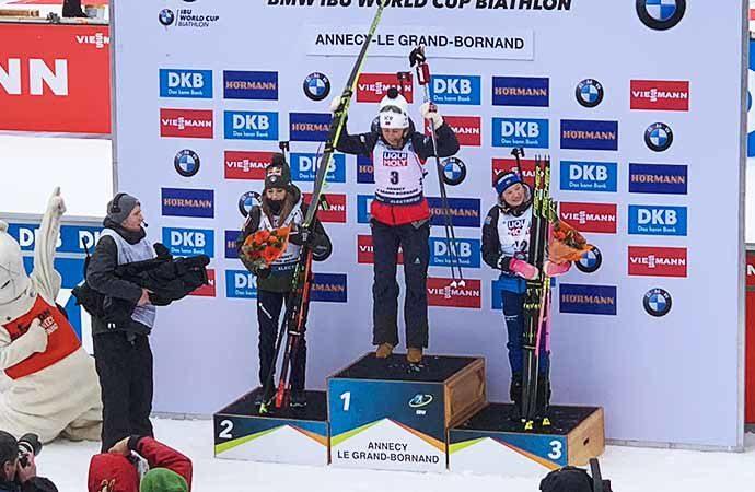 Image podium-biathlon Classes évènements Classe de découverte Côté Découvertes