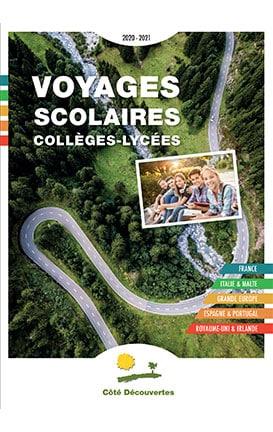 Image Couverture Catalogue Cote Découvertes Collège Lycée 2021